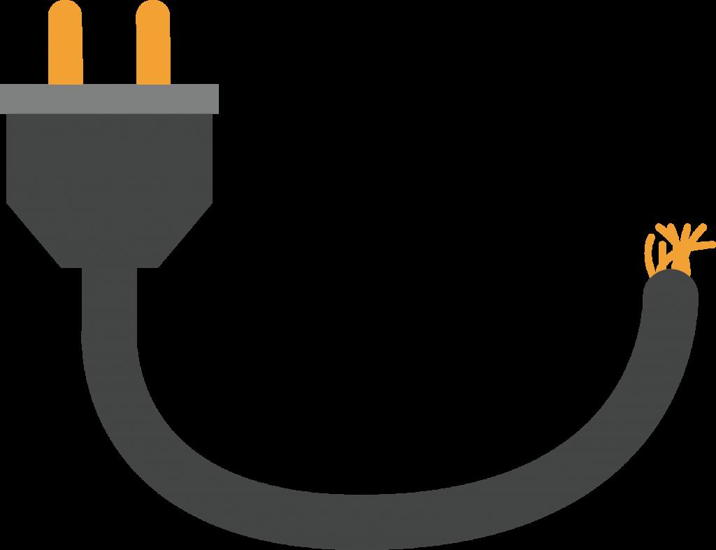 power loss mission critical Power plug
