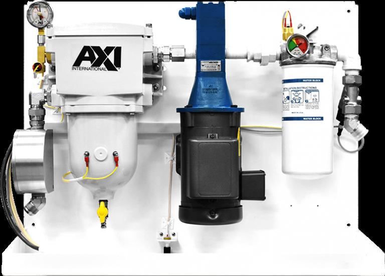 fuel maintenance system lx-f compressed