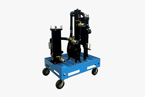 mobile fuel polishing system high capacity hc 50