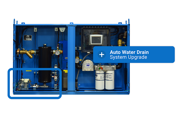 STS Enclosed Fuel Maintenance System Auto Water Drain (AWD) Upgrade