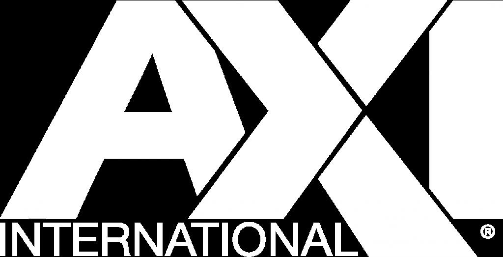 AXI International Logo White