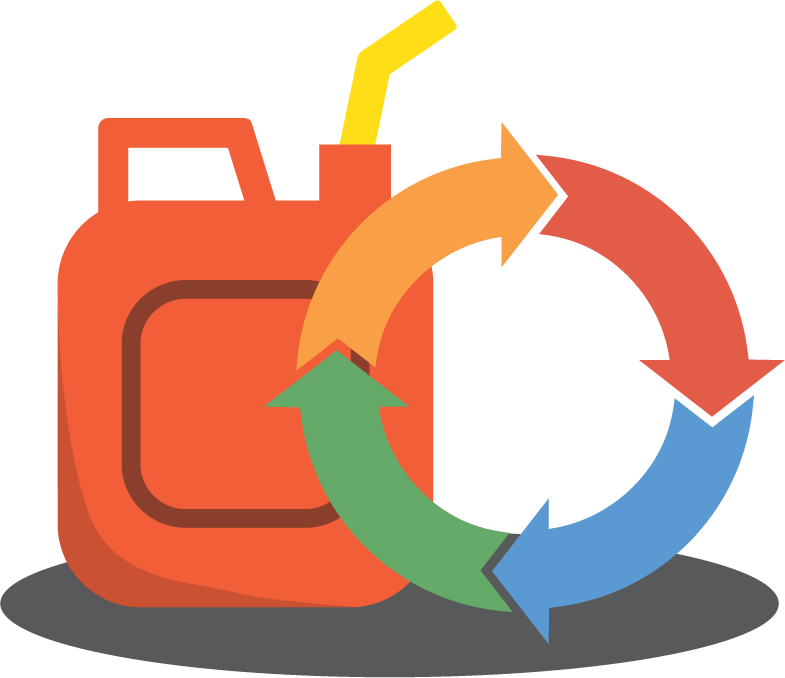 Icon for fuel cycle section